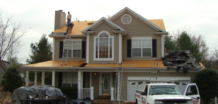 Professional new construction roofing