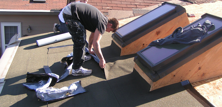 Roof repair for all homes