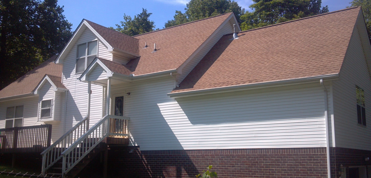 Roof repair for architectural shingles